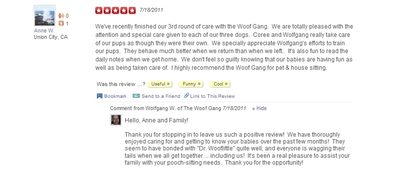The Woof Gang - Yelp Review 10