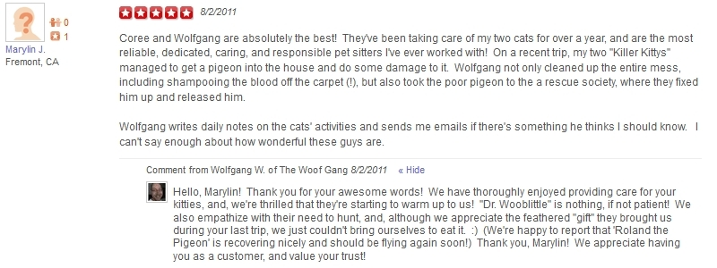 The Woof Gang - Yelp Review 17