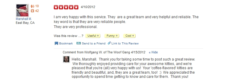 The Woof Gang - Yelp Review 25