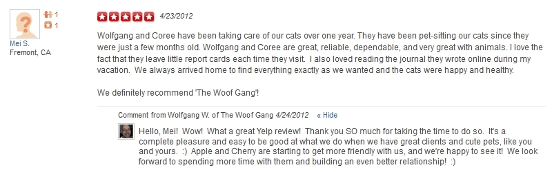 The Woof Gang - Yelp Review 27