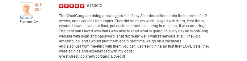 The Woof Gang - Yelp Review 31