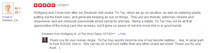 The Woof Gang - Yelp Review 6