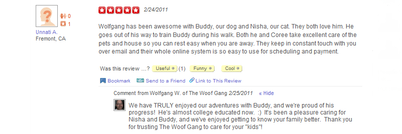 The Woof Gang - Yelp Review 7